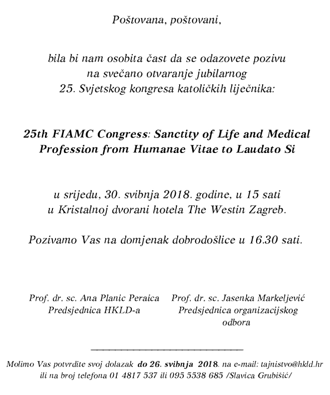 25th FIAMC Congress 3