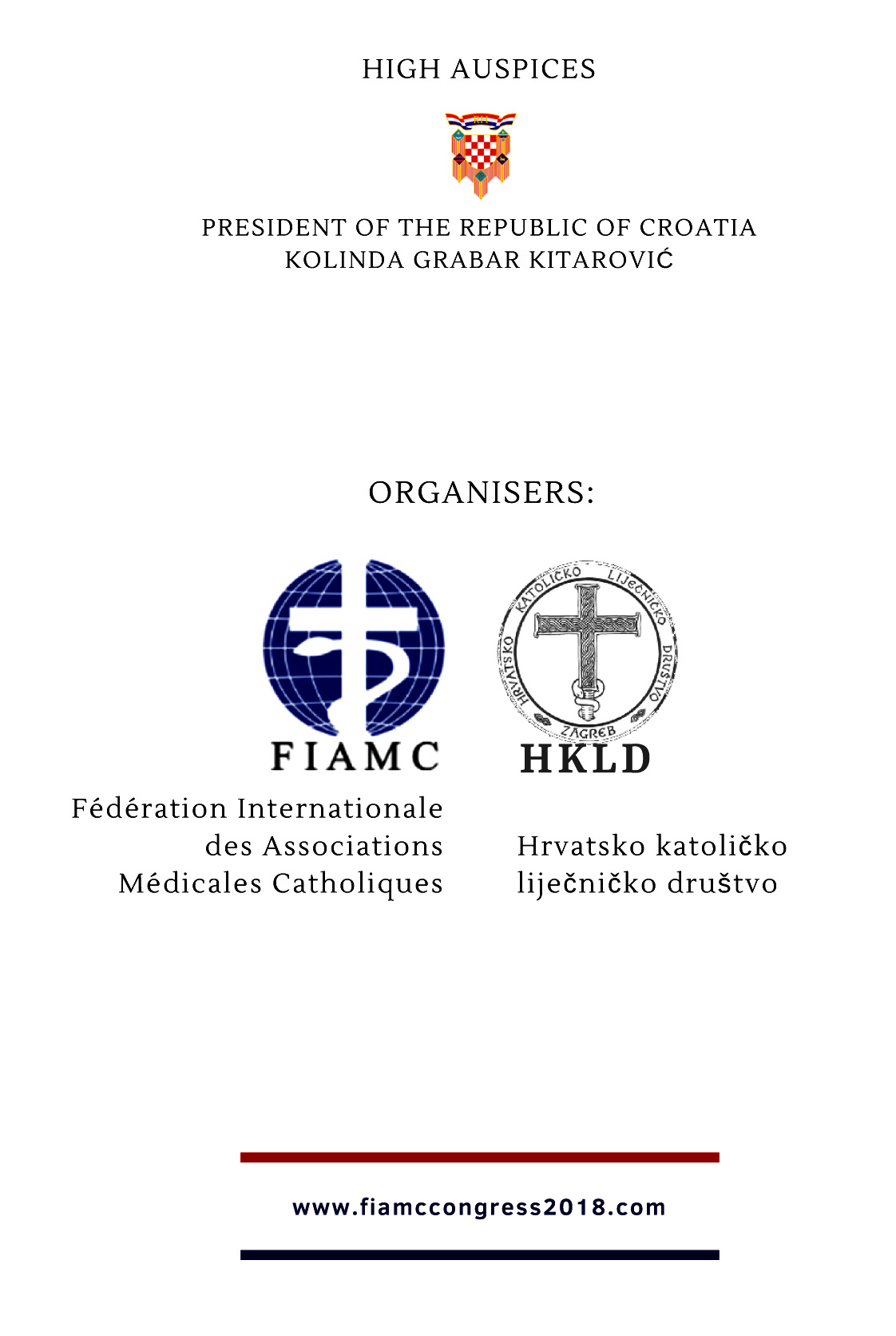 Pozivnica 25th FIAMC Congress 2
